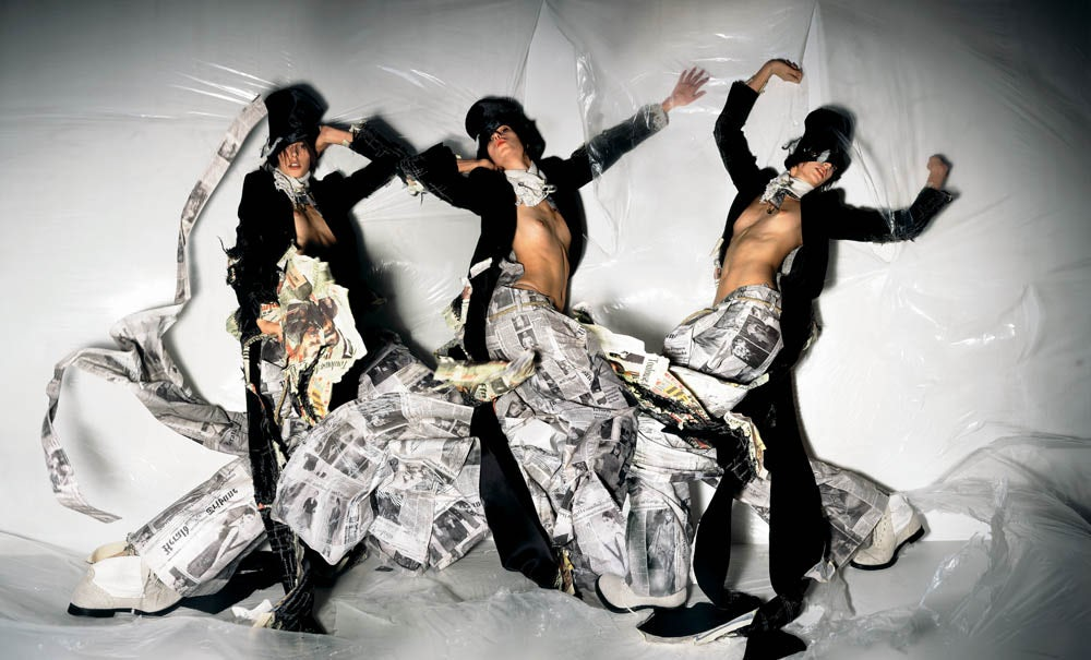SHOWstudio: Fashion Revolution exhibition advise to wear in winter in 2019