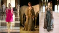 Valentino, Christian Dior and Fendi Haute Couture Spring/Summer 2021. Valentino; Christian Dior; Fendi.