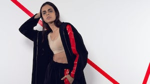 Selected designers can benefit from mentoring by industry professionals, including designer Arwa Al Benawi. Arwa Al Benawi for Adidas Originals