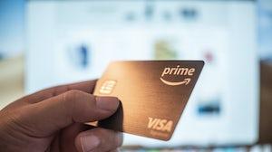 Amazon Rewards Visa Signature card. Shutterstock.