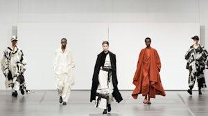 Issey Miyake: Runway - Paris Fashion Week Womenswear Fall/Winter 2020/2021. Getty Images.
