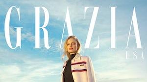 Kate Bosworth covers Grazia. Courtesy