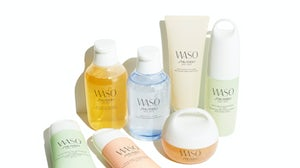 Waso products. Shiseido