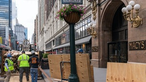 Macy's New York flagship store prepares to reopen   Source: David Dee Delgado/Getty Images
