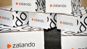 Zalando boxes. Shutterstock.