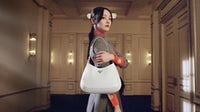 Actress Zheng Shuang in Prada's latest Chinese New Year campaign. Prada.