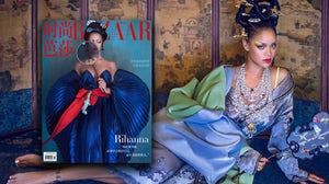 Rihanna photographed by Chen Man| Source: Harper's Bazaar China