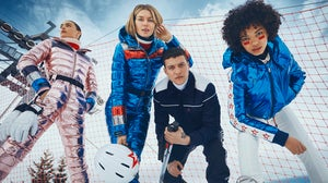A Perfect Moment skiwear campaign. Courtesy.