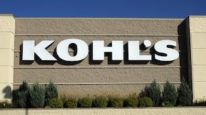 Kohl's retail storefront. Shutterstock.