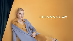 A campaign image for the Ellassay brand in China. Ellassay Group