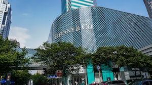 Tiffany & Co store in Shanghai, China. Shutterstock.