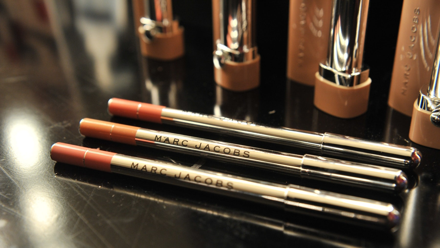 Marc Jacobs Beauty is exploring opportunities with a new partner as its licensing agreement with LVMH's Kendo comes to an end. Getty Images.