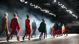 Models on a catwalk. Shutterstock.