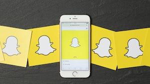 Snapchat. Shutterstock.