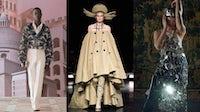 Fendi, Jean Paul Gaultier, and Maison Margiela Autumn/Winter 2021 Haute Couture collections. Courtesy.