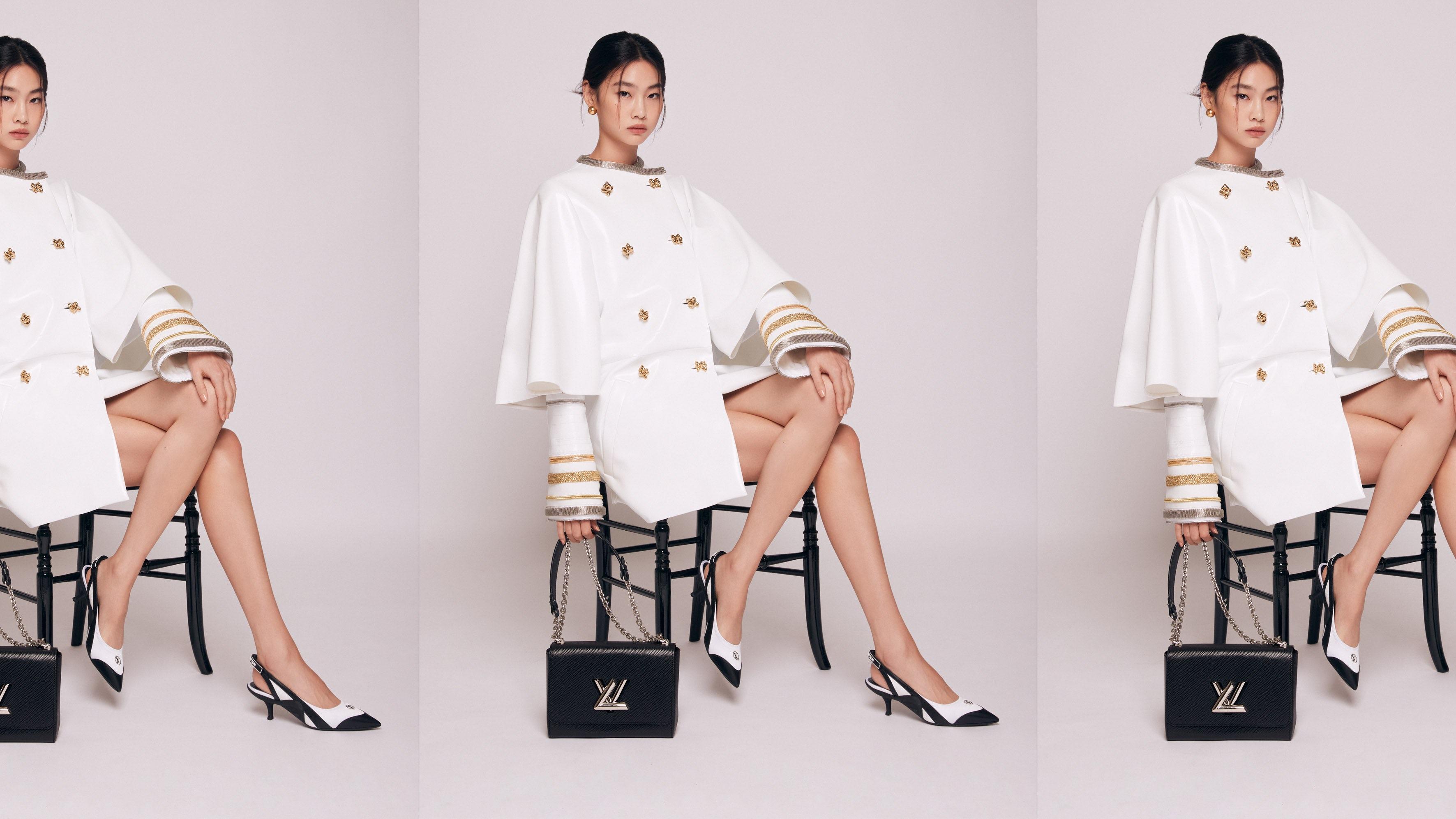 《鱿鱼游戏》的女演员郑浩妍被任命为路易威登的全球形象大使。路易威登。