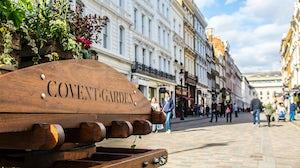 Covent Garden. Shutterstock.