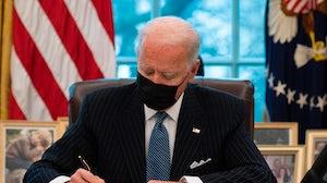 President Joe Biden. Getty.