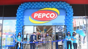 A new Pepco store in Serbia is pictured at its opening. Pepco.eu