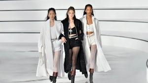 Chanel's autumn-winter 2020-2021 show in Paris. Getty.
