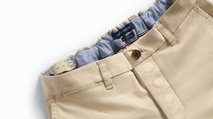 Tommy Hilfiger chinos with Velcro brand closure and magnetic fly, internal pull-up loops and button and loop adjustable waist | Source: Courtesy
