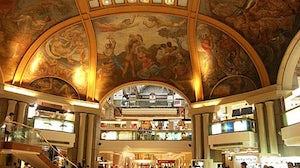 Galerias Pacifico shopping centre in Argentina. Bugbog.