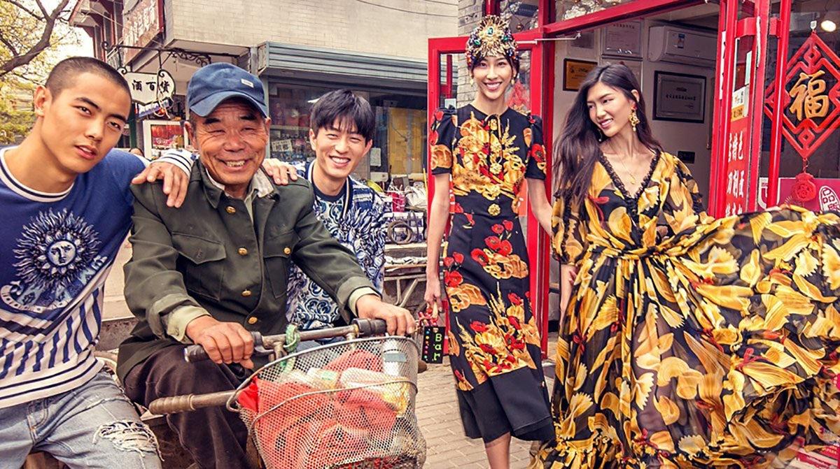 Dolce & Gabbana\'s \'DG Loves China\' campaign. Dolce & Gabbana.
