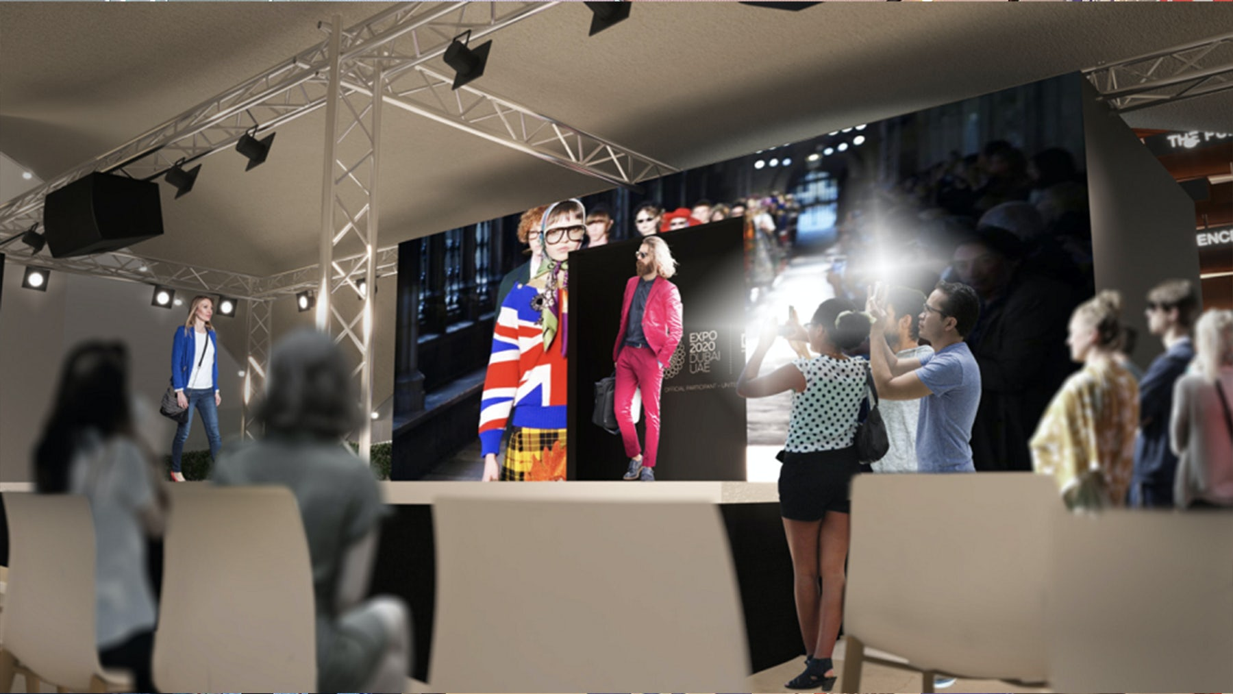 The British Fashion Council will be holding a fashion show and sustainability summit in the UK Pavilion at Expo 2020 Dubai. UK at Expo, Department for International Trade.