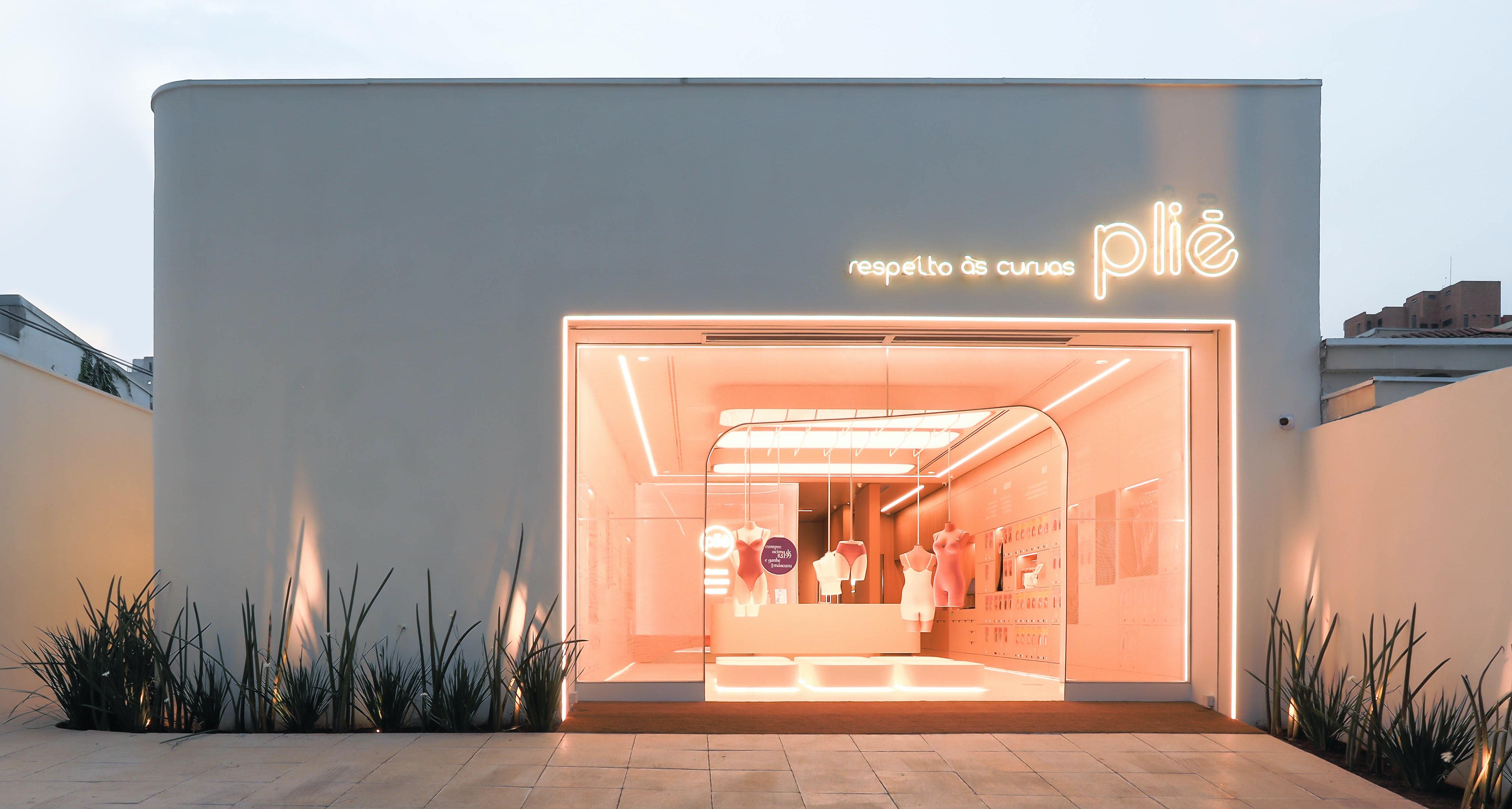 Concept Store of Brazilian brand Plié. Courtesy.