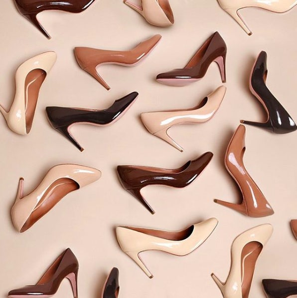 Rebecca Allen\'s nude pumps have been picked up by Nordstrom. Courtesy.
