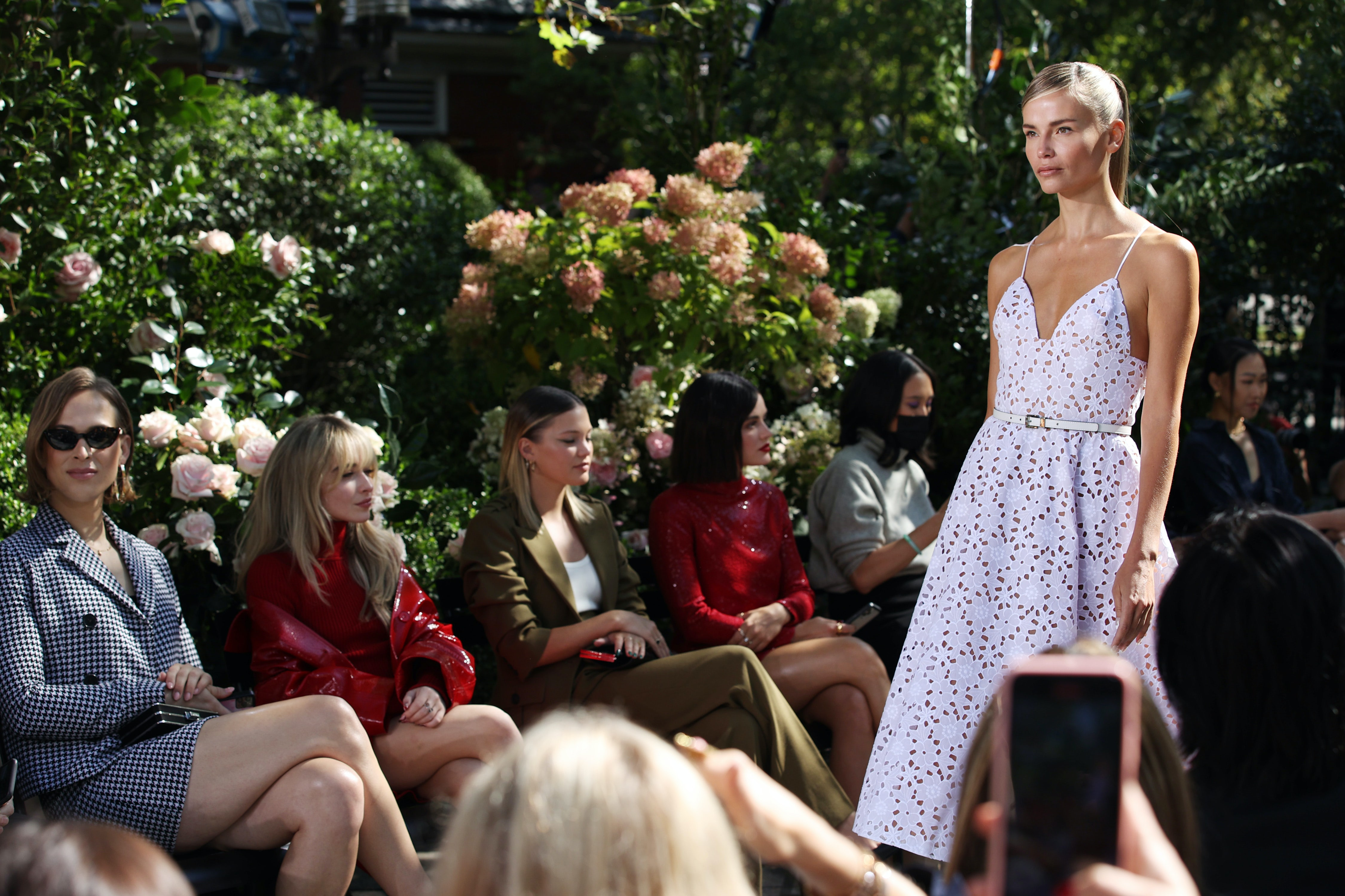 A model walks the runway for Michael Kors at New York Fashion Week. Dimitrios Kambouris/Getty Images for Michael Kors