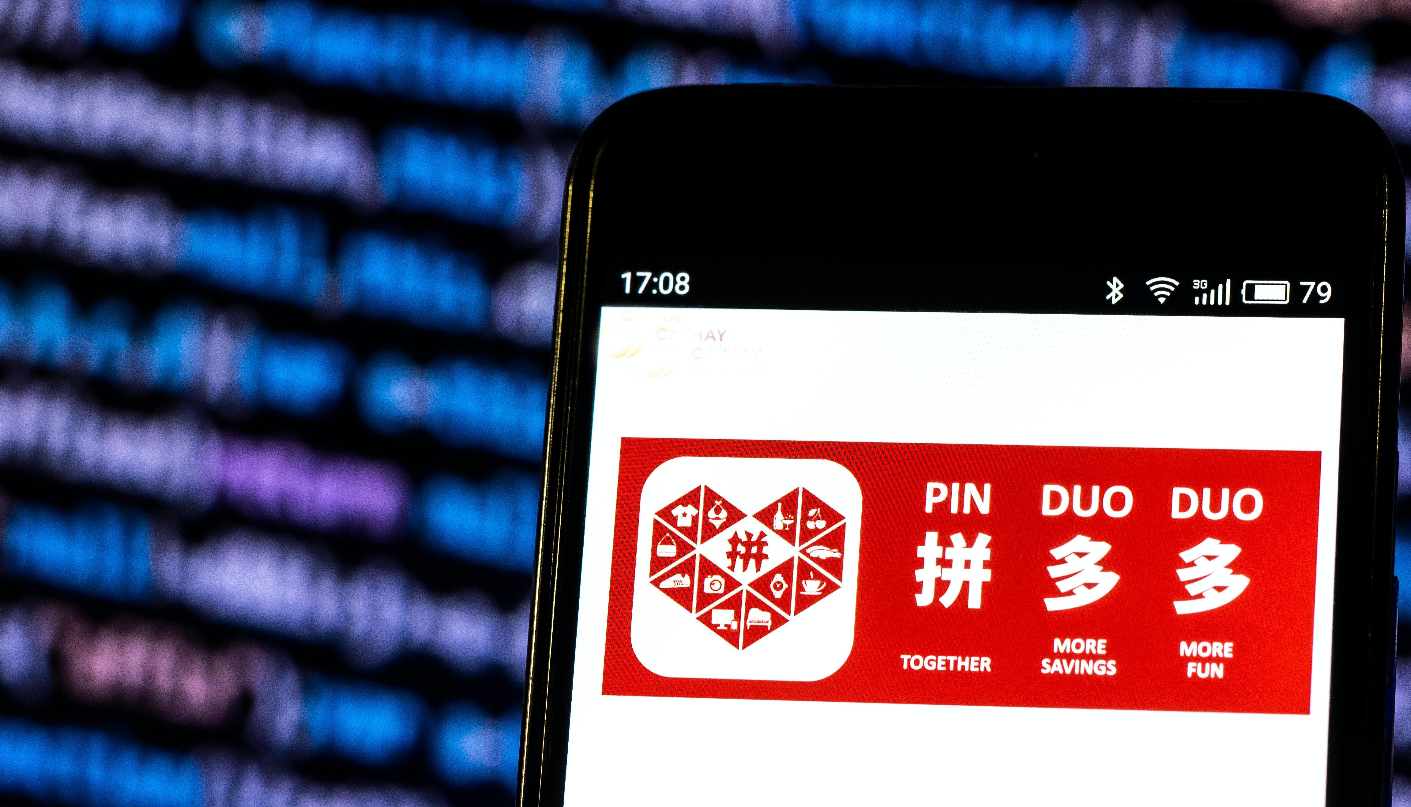Pinduoduo. Shutterstock.