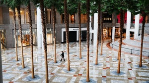 An empty Brookfield Place in Manhattan | Source: Spencer Platt/Getty Images