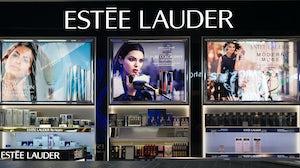 Estée Lauder storefront. Shutterstock.