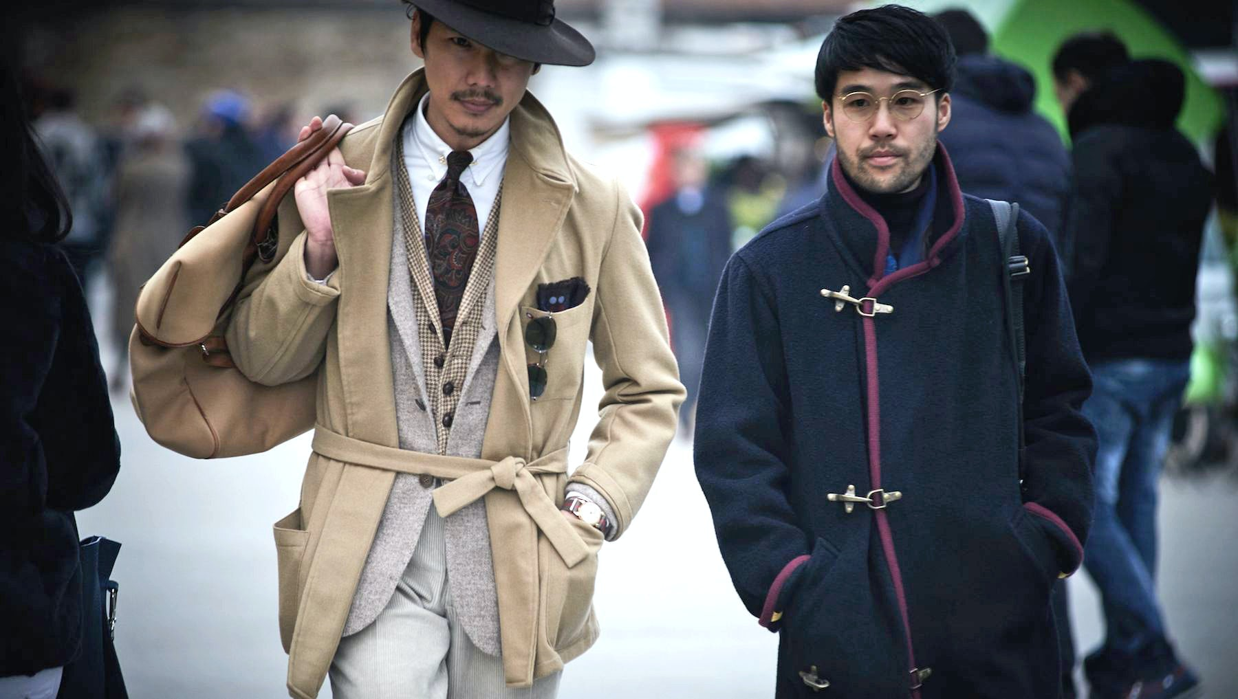 Attendees of Pitti Uomo 91  Source: Courtesy