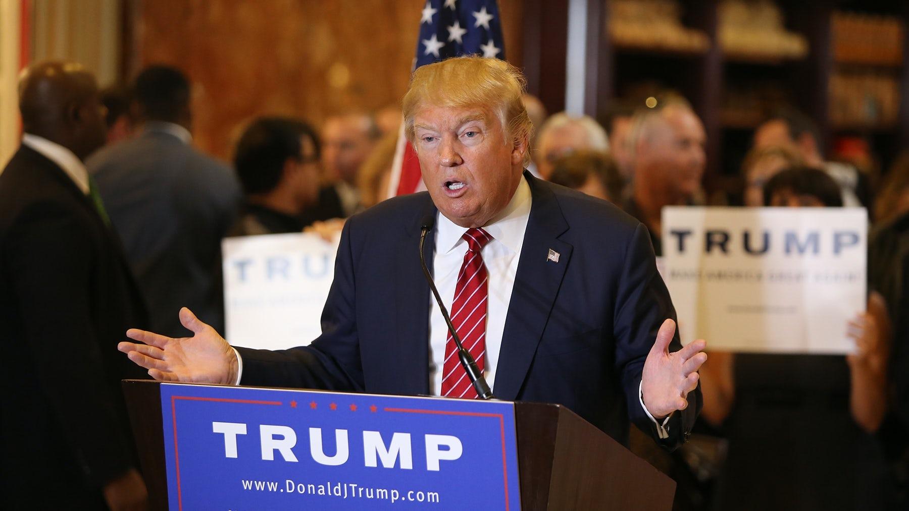 Donald Trump. Shutterstock.
