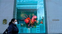 Hermès store on Madison Avenue in New York. Getty Images.