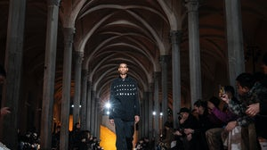Jil Sander Fashion Show At Pitti Immagine Uomo, January 2020. Getty Images.