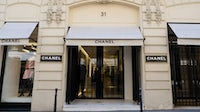 Chanel store, 31 rue Cambon in the 1st quarter of Paris. Getty Images.