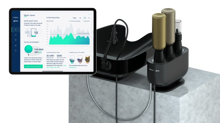 L\'Oréal and Gjosa\'s water-saving technology. L\'Oréal.