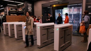 Amazon Go cashierless shop, Washington. Shutterstock.