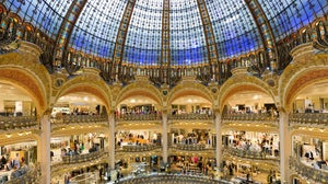 Galeries Lafayette in Paris, France. Shutterstock.