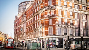 .Harvey Nichols' flagship store in Knightsbridge. Shutterstock.