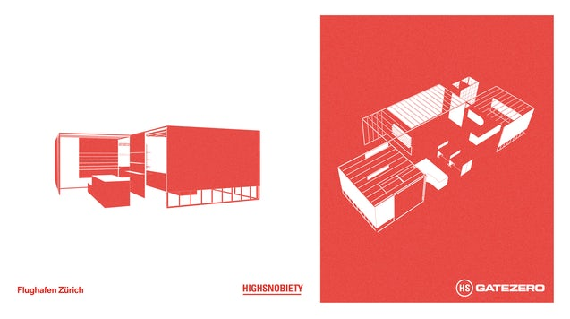 Highsnobiety Gatezero 将于 11 月在苏黎世机场开业。 高贵