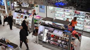 A Rive Gauche store in Moscow's Tsvetnoi shopping centre. Shutterstock.