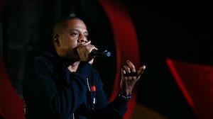 Rapper Jay-Z, owner of Roc Nation. Shutterstock.