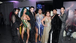 Manny Gutierrez and Patrick Starrr, featured here at Starrr's birthday party in 2019, are among the featured guests at YouTube's first virtual beauty festival. Getty Images.