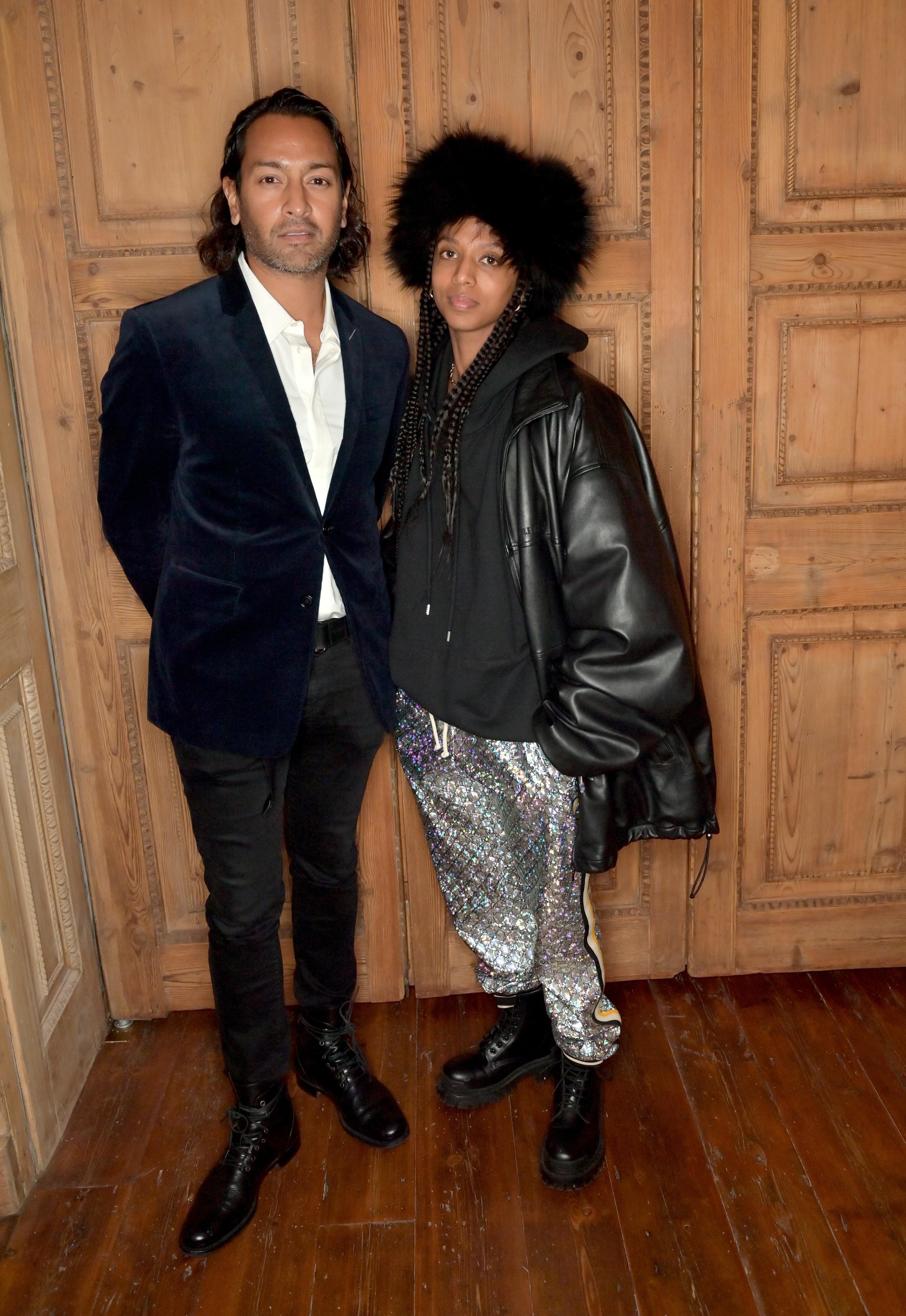 Jamil Shamasdin and Janaya 'Future' Khan. Getty Images.