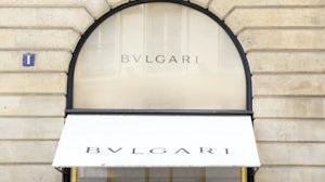 The Bulgari store in Place Vendome in Paris. Shutterstock.