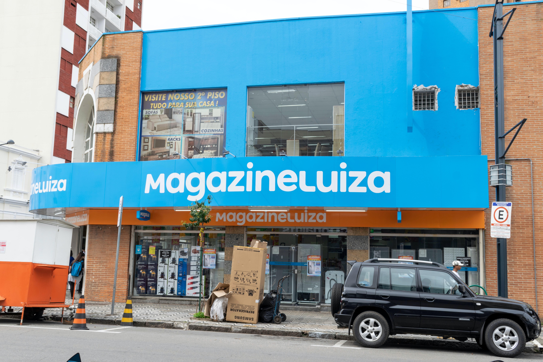 Magazine Luiza storefront in Minas Gerais, Brazil. Shutterstock.